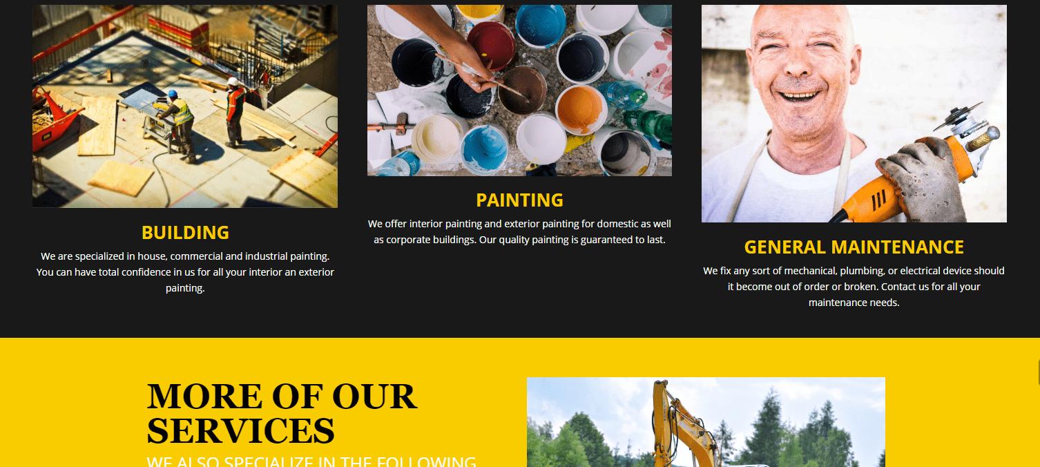 Mr Ultimate Construct Website
