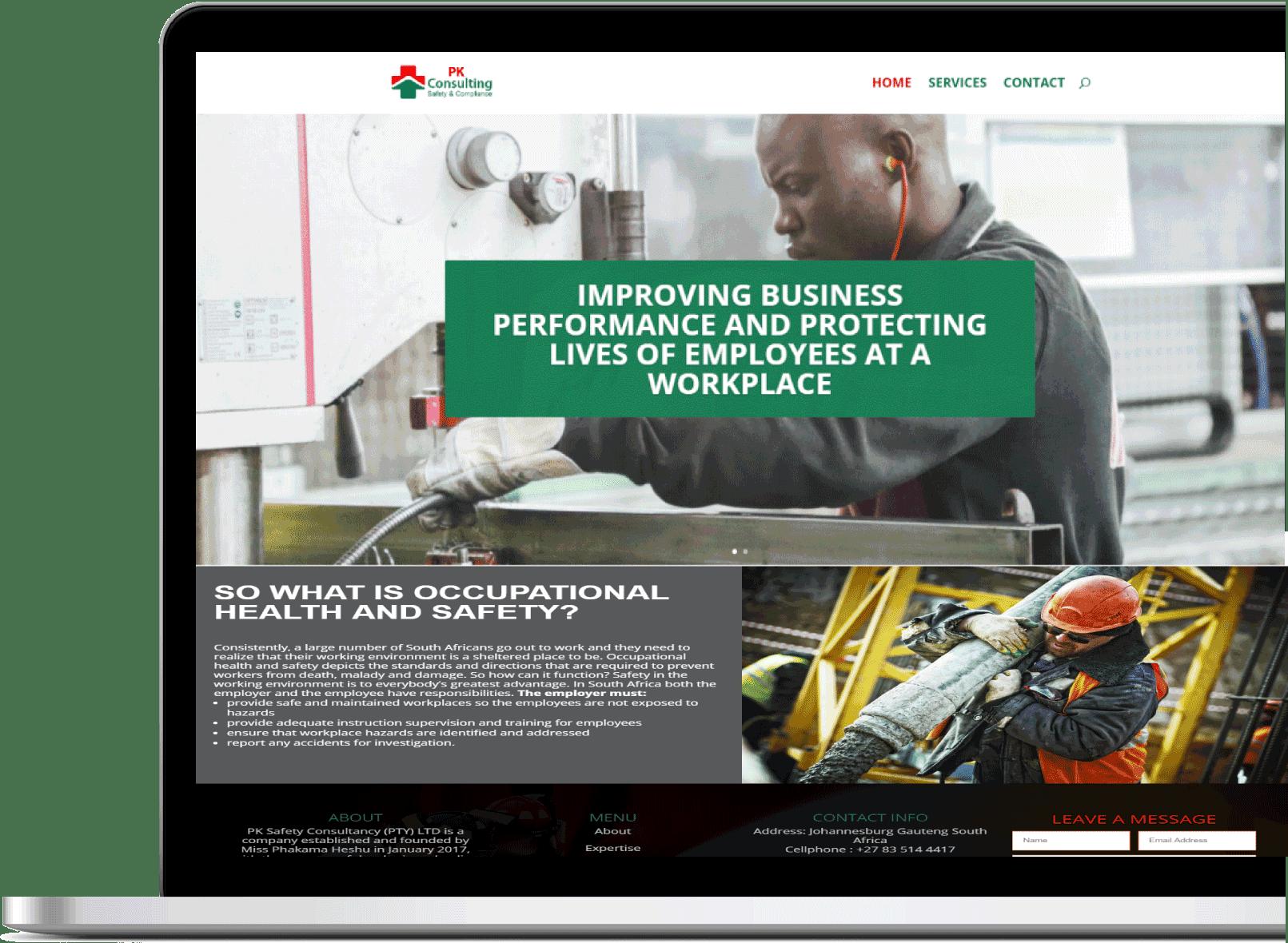 website design by new age marketing (NAM)